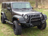 Jeep Headlight Euro Guards