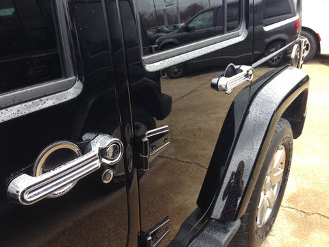 Jeep Chrome Door Handle Covers