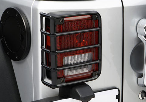 Black Jeep Tail Light Euro Guards