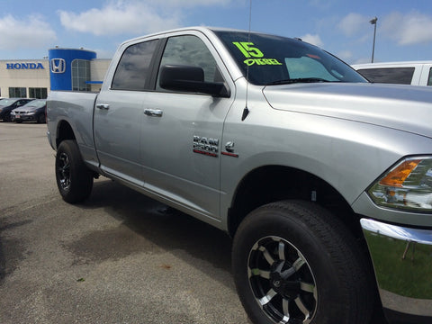 2015 Dodge Ram 2500 SLT Wheel Upgrade
