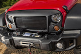 07-15 Jeep Wrangler Spartan Grille With Black Screen