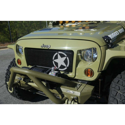 Jeep Military Star Grille Insert