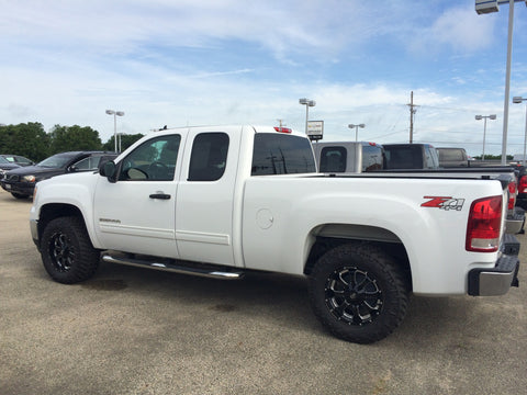 2013 GMC Sierra 1500 SLE with Tough Rigs Wheels