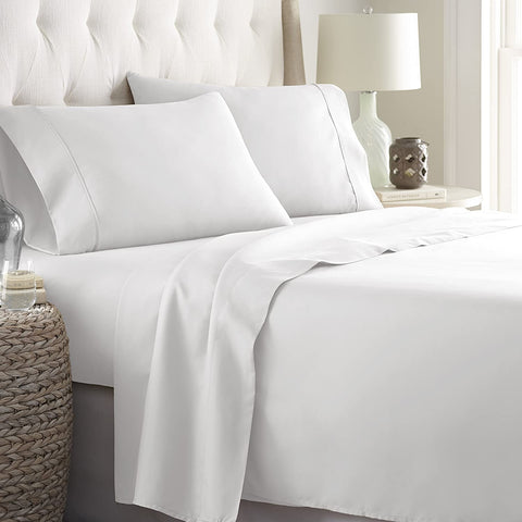 Bed Sheets - White