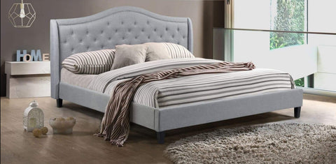 Twilight Platform Bed - Gray