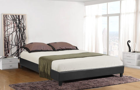 Paragon Platform Bed - Black