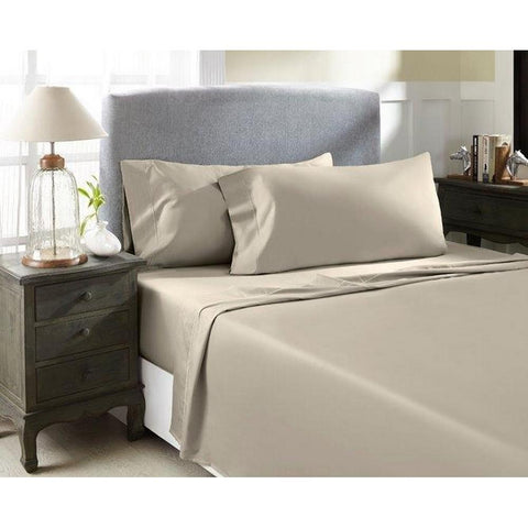 Bed Sheets - Taupe