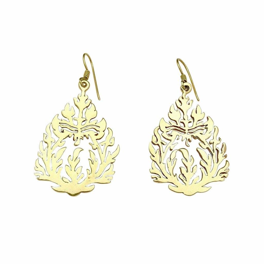 Khmer Temple Earrings