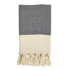 Herringbone Turkish Hand Towel