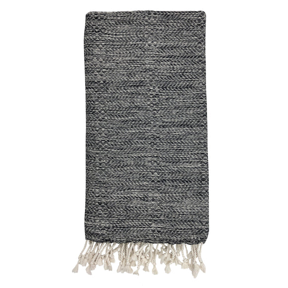 Chevron Melange Turkish Towel