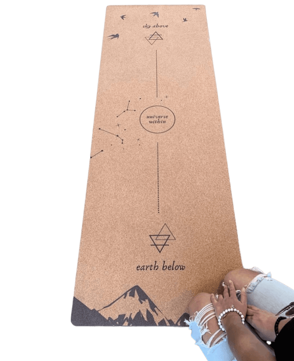 Alignment Cork Yoga Mat