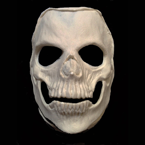 Rip-Off Skull with Clown skin