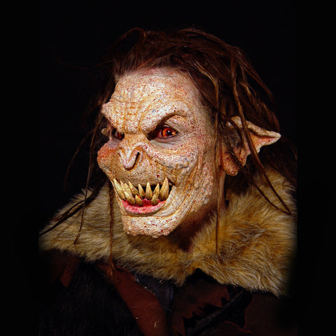 troll, foam latex, prosthetic, mask