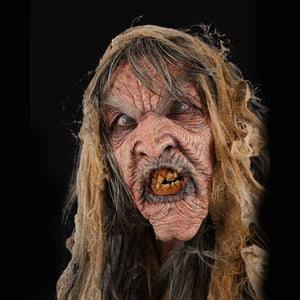 witch, hag, foam latex, prosthetics, mask