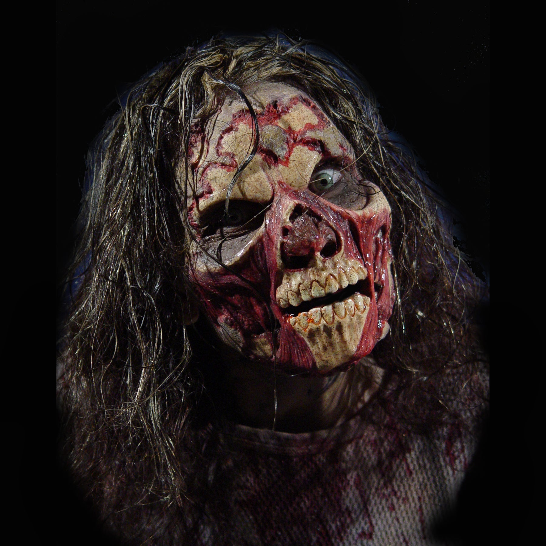 zombie, zombie mask, zombie decayed, fx faces, prosthetic