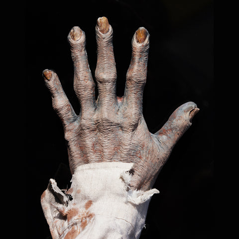 zombie hands, zombie gloves, fx faces, prosthetics, foam latex