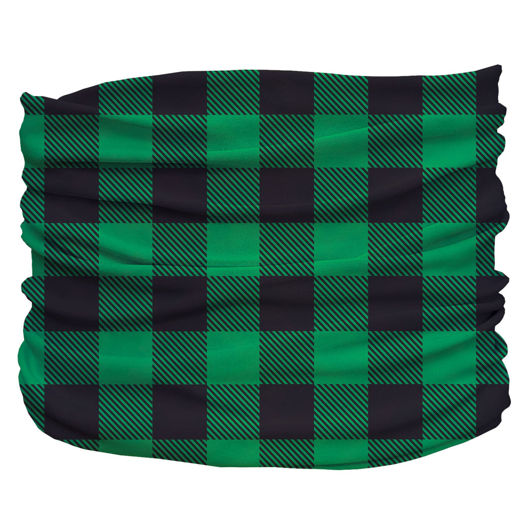 Buffalo Plaid Green Pup Scruff