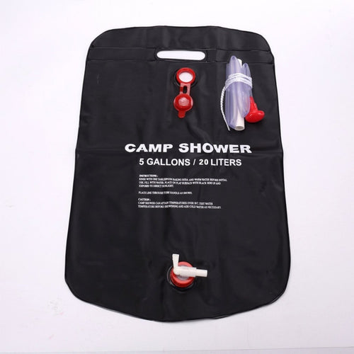 Solar Heated Shower Bag (20L)