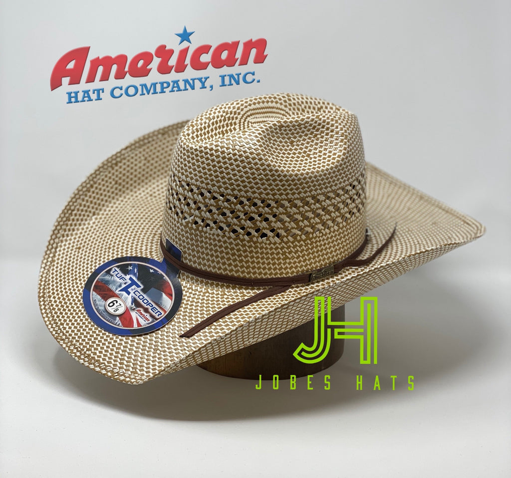 "American Hat Co Straw TC8870 L/O  4""1/4brim - Jobes Hats"