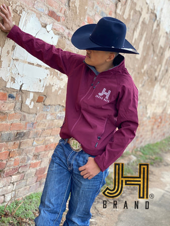 Burgundy Softshell Jacket JH by Jobes Hats - Jobes Hats