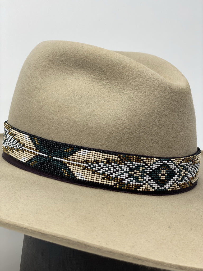 JH Handmade Beaded Hatband- FASHION HAT #9 - Jobes Hats