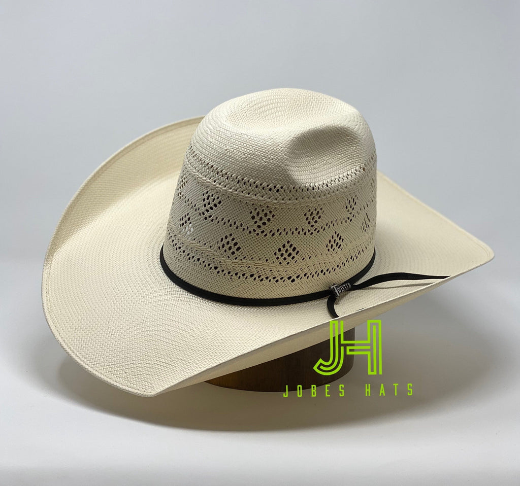 "JH Straw- ""Fresa""  4"" 1/4 brim (comes open and flat) - Jobes Hats"