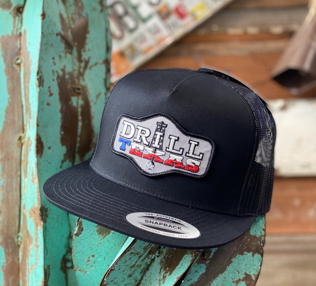Red Dirt Hat Co. - All Black Drill Texas - Jobes Hats