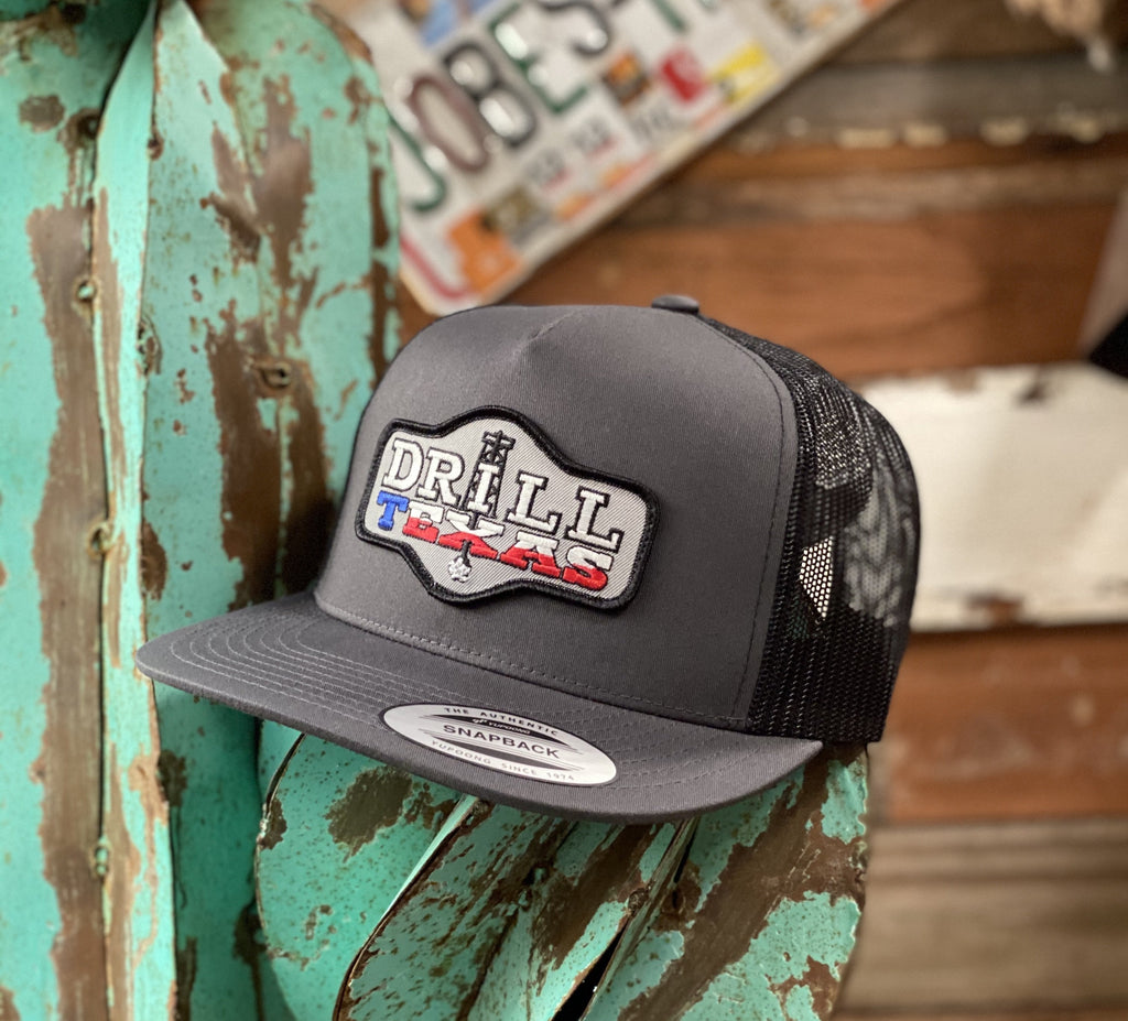 Red Dirt Hat Co. - All Grey Drill Texas - Jobes Hats