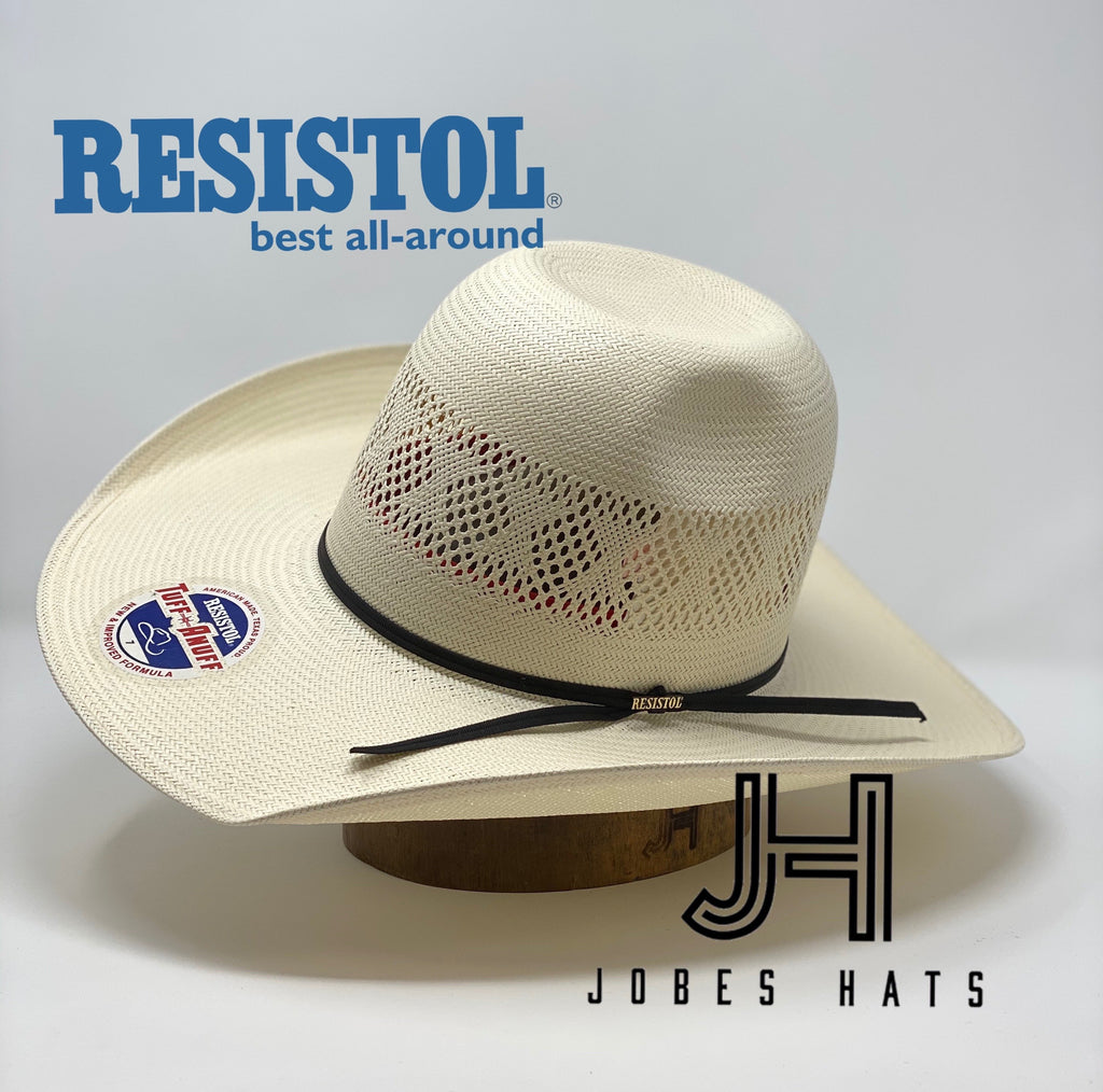 "Resistol 2020 Model ""Coyote Creek""  4""1/4 brim. Comes with DryLex sweatband - Jobes Hats"