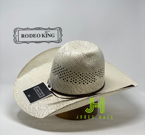 Rodeo King- Twisted Toyo- open crown - Jobes Hats