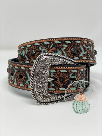 Roper Womens Belt Vintage Brown - Jobes Hats