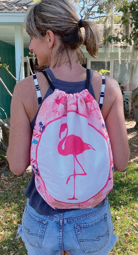 Island Time Backpack Towel