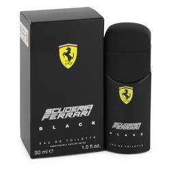 Ferrari Scuderia Black Eau De Toilette Spray By Ferrari