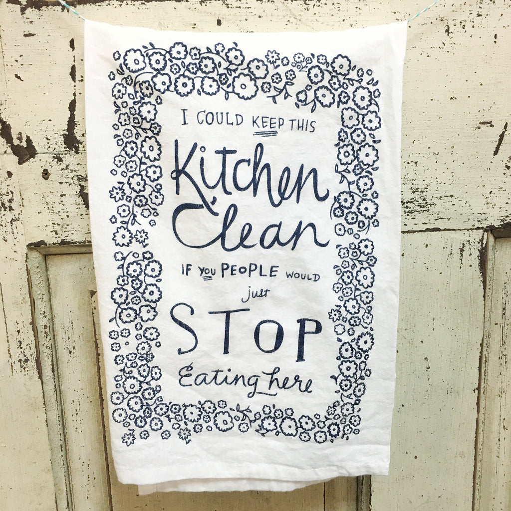 Keep This Kitchen Clean Towel