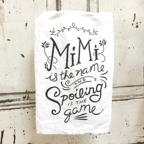 Mimi is the Name Towel