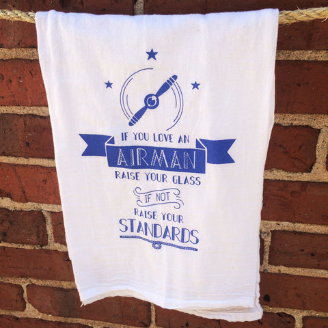 If You Love An Airman Towel