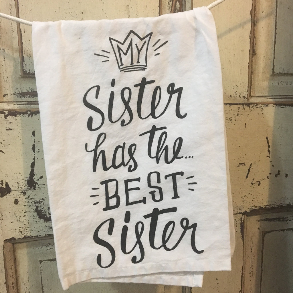 Best Sister Towel