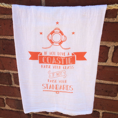 If You Love A Coastie Towel