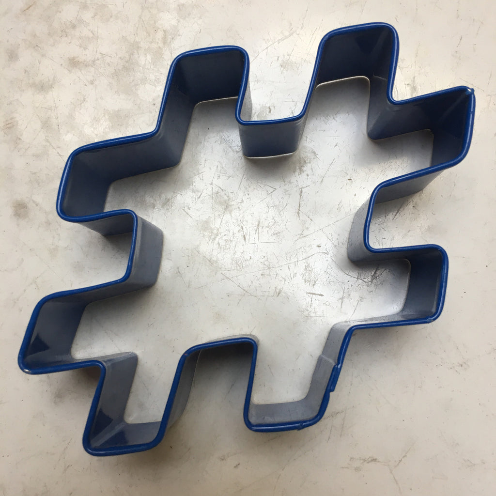 Hashtag (#) Cookie Cutter