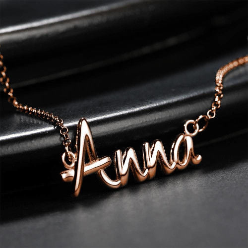 Aesthetic Style Personalized Name Necklace