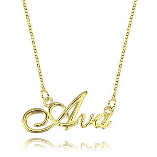 Designer Style Personalized Name Necklace
