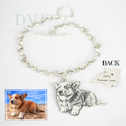 Personalized Photo Engraved Bracelet