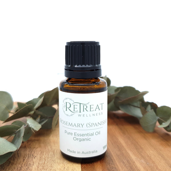 Rosemary (Spanish) Essential Oil - Organic