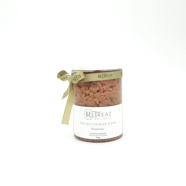Shea Butter Rosemary Body Scrub