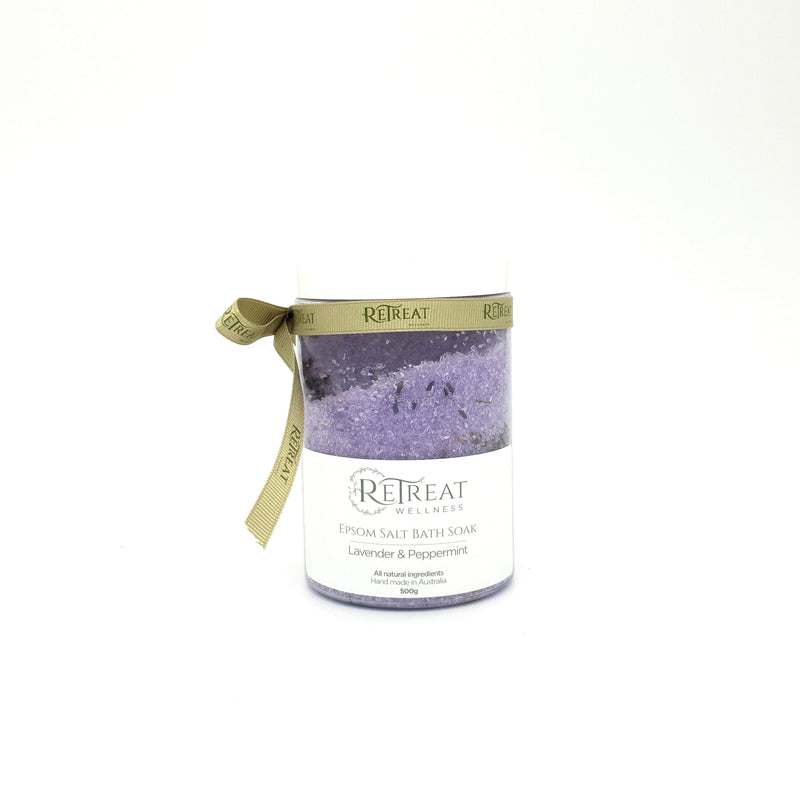 Lavender & Peppermint Epsom Bath Soak