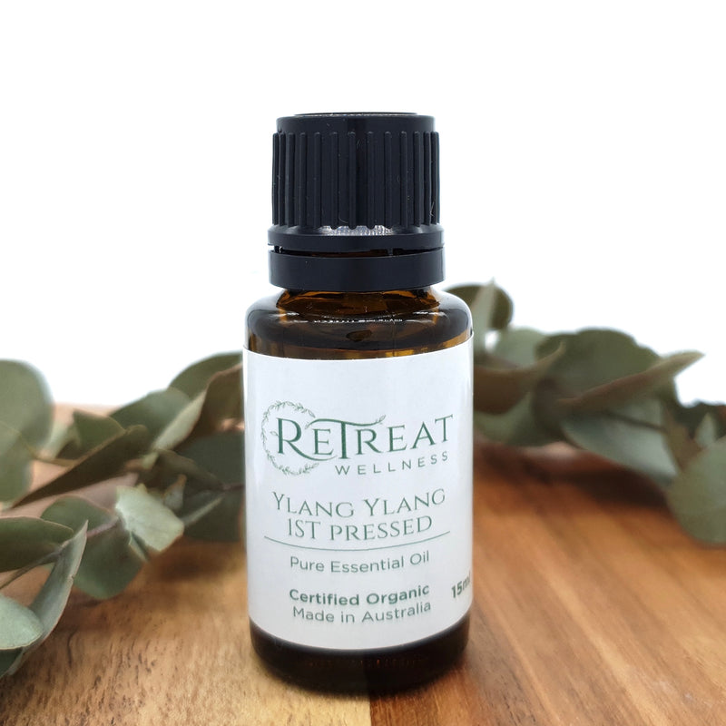 Ylang Ylang 1st Pressed Essential Oil - Organic