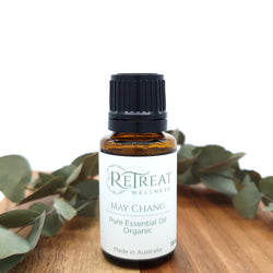 May Chang Essential Oil - Organic