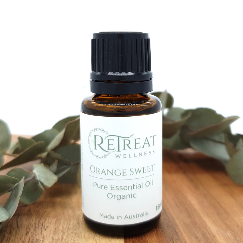 Orange Sweet Essential Oil - Organic