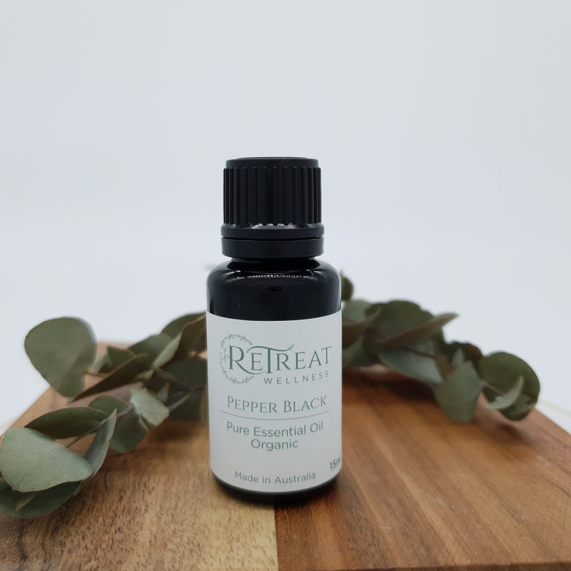 Pepper Black Essential Oil - Organic