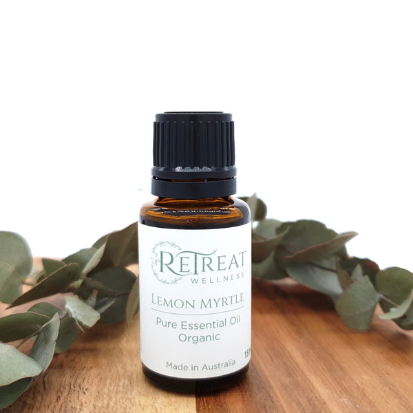 Lemon Myrtle Essential Oil - Organic